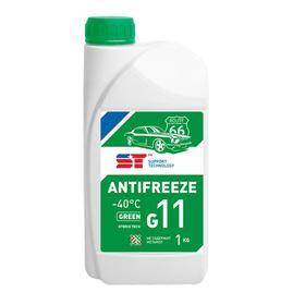 Антифриз Support Technology G-11 зеленый, 1 л Ош