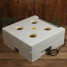 Инкубатор бытовой, на 63 яйца, автоматический переворот, 220 В, с кормушкой, поилкой, овоскопом, NIKA Ош