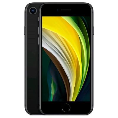 Смартфон Apple iPhone SE 2020 (MXD02RU/A), 128Гб, черный - Фото 1