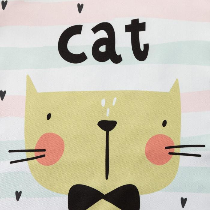 """Фартук детский Крошка Я """"Cat"""", 40*50 см, 100% п/э"""
