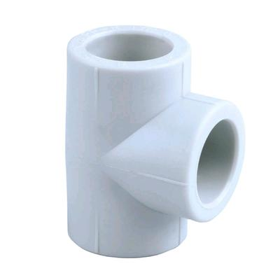 Тройник PIPELIFE INSTAPLAST, полипропиленовый, d=20 мм, серый