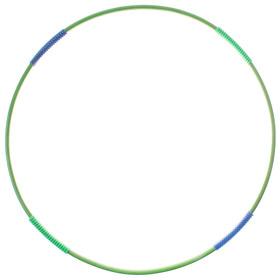 Обруч гимнастический с массажными насадками, стальной, d=90 см, 750 г, цвета МИКС Ош