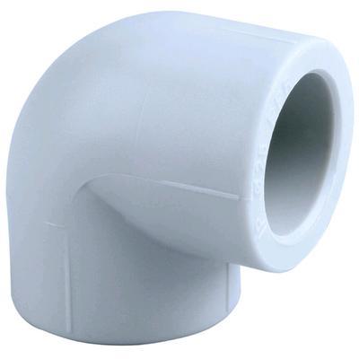 Угольник PIPELIFE INSTAPLAST, полипропиленовый, 20 мм, 90°, белый