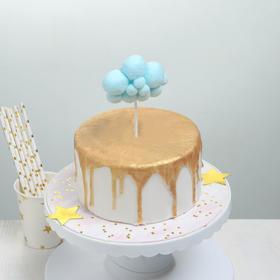 Топпер для торта «Облачко», 17×9 см, цвет МИКС