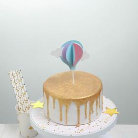 Топпер для торта «Воздушный шар», 19,5 см