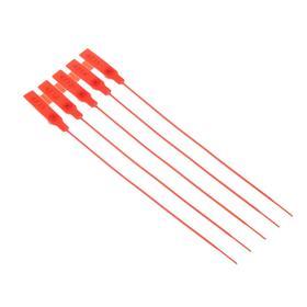 Пломба пластиковая, пронумерованная, 240 мм, красный, фасовка 20 шт Ош
