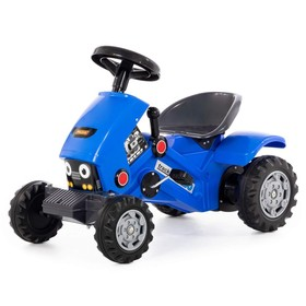 Педальная машина для детей Turbo-2, цвет синий Ош