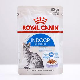 Влажный корм RC Indoor для домашних кошек, в желе, пауч, 85 г