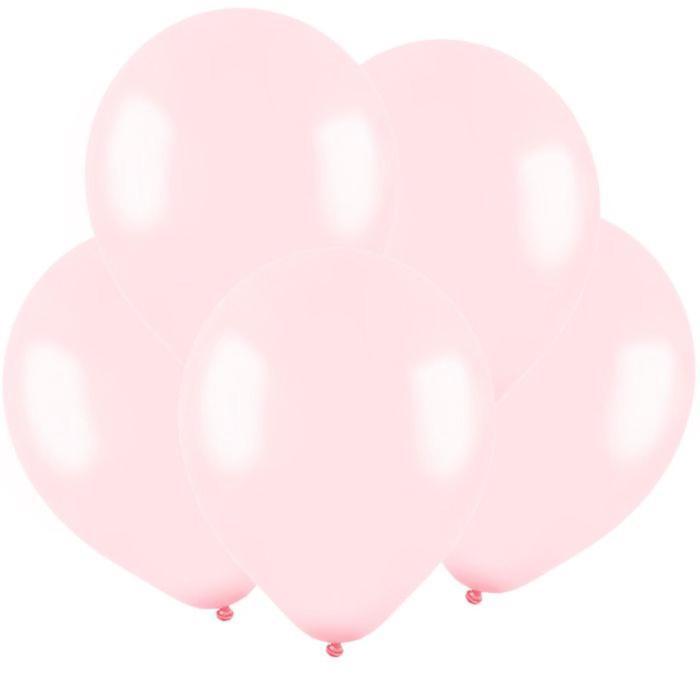 Шар латексный 5, водяные бомбочки, пастель, набор 100 шт., цвет нежно-розовый