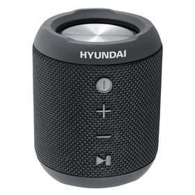 Портативная колонка Hyundai H-PAC300 7Вт, FM, AUX, microSD, USB, BT4.2, 2200мАч, черный