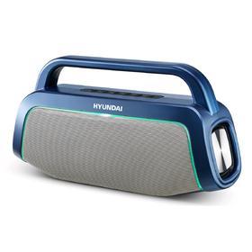 Портативная колонка Hyundai H-PAC580 10Вт, AUX, microSD, USB, Bluetooth, 3000мАч, синий