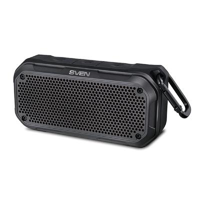 Портативная колонка Sven PS-240 12Вт, FM, AUX, microSD, Bluetooth, 2000мАч, черный - Фото 1