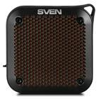 Портативная колонка Sven PS-88 7Вт, FM, AUX, microSD, Bluetooth, 1500мАч, черный - Фото 3