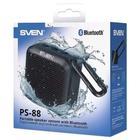 Портативная колонка Sven PS-88 7Вт, FM, AUX, microSD, Bluetooth, 1500мАч, черный - Фото 8