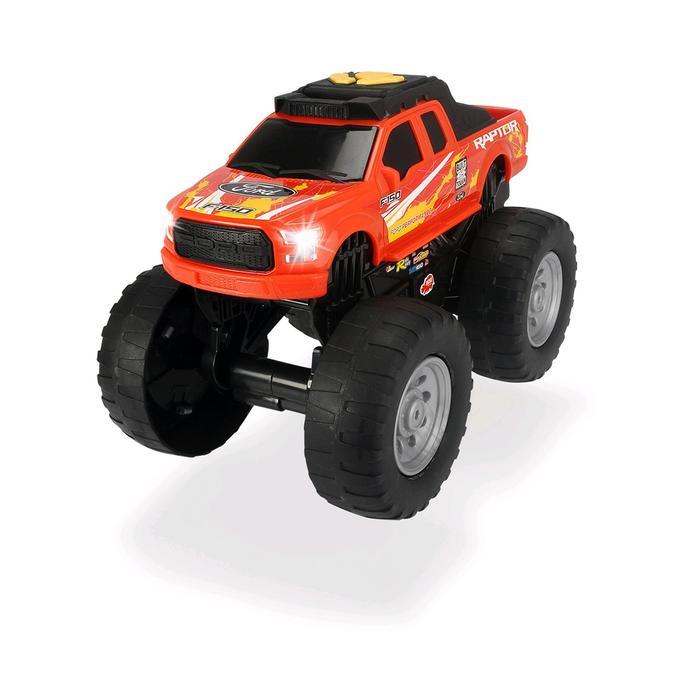 Ford Raptor Рейсинговый монстр-трак, моторизированный 25,5 см красный, свет/звук