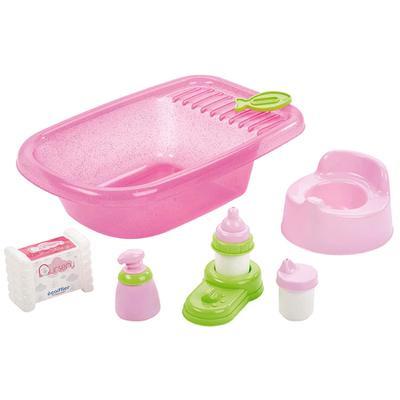 Детский набор по уходу за куклой с ванной и аксессуарами - Фото 1