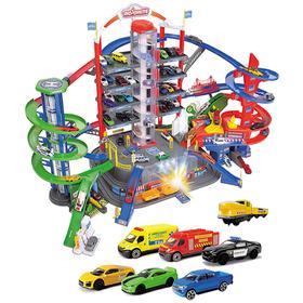 Парковка «Супер город», 7 уровней