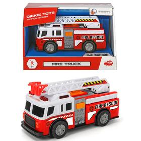 Пожарная машинка 15 см, световые и звуковые эффекты