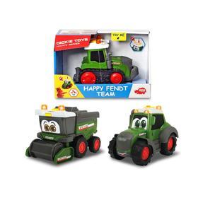 Трактор Happy Fendt 16 см, свет/звук 3 вида