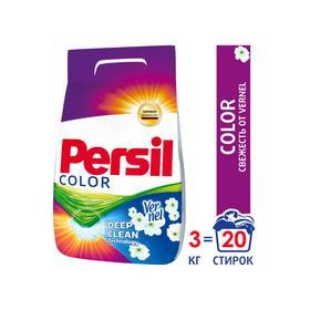 Стиральный порошок Persil Color, свежесть Vernel, автомат, 3 кг