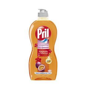 Средство для мытья посуды Pril «Секреты настроения», с маракуйей и гибискусом, 450 мл