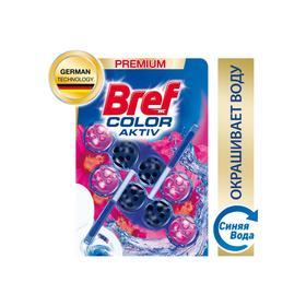 Туалетный блок Bref Color Activ «Цветочная свежесть», 2 шт. по 50 г