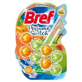 Туалетный блок Bref Perfume Switch «Сочный персик - яблоко», 2 шт. по 50 г