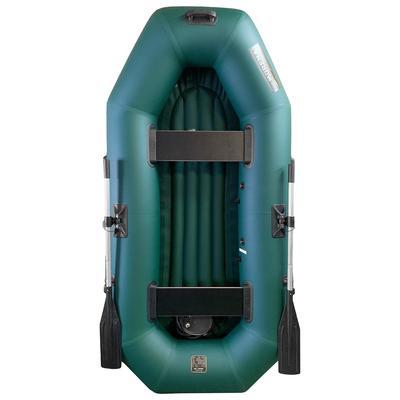 Лодка «Мурена 250У НД» надувное дно, цвет олива - Фото 1