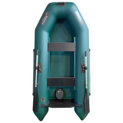 Лодка «Мурена 290М СЛ», слань, цвет олива - Фото 1