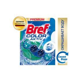 Туалетный блок Bref Color Activ, с эвкалиптом, 50 г
