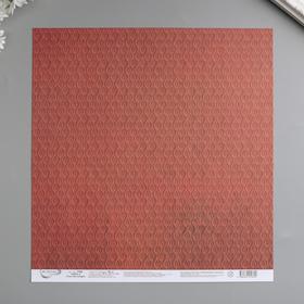 "Бумага для скрапбукинга ""Mr.Painter"" 30.5x30.5 см ""Сны листопада №5"" 190 г/кв.м"