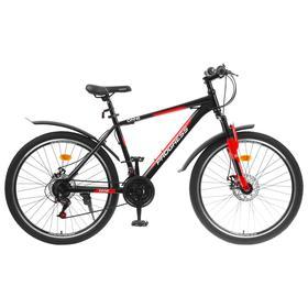 Велосипед 26' Progress модель ONNE RUS, цвет черный, размер 18' Ош