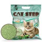 Наполнитель для кошачьих туалетов Cat Step Tofu Green Tea 12L, растительный комкующийся