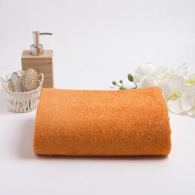 Полотенце махровое гладкокрашеное, размер 100х180 см