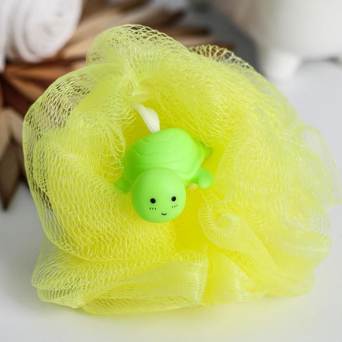 Игрушка-мочалка для купания, детская «Черепашка»