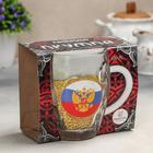 Кружка для пива «Герб на флаге», 500 мл, в подарочной упаковке - Фото 3