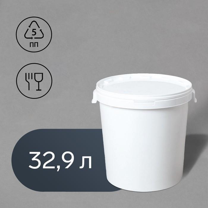 Бак пищевой «Для солений», 32,9 л, с герметичной крышкой