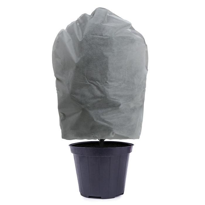 Чехол для растений, трапеция на шнурках, 100 × 70 см, спанбонд с УФ-стабилизатором, плотность 60 г/м², набор 3 шт., белый