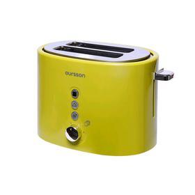 Тостер Oursson TO2110/GA, 800 Вт, 2 тоста, 7 режимов прожарки, зелёный