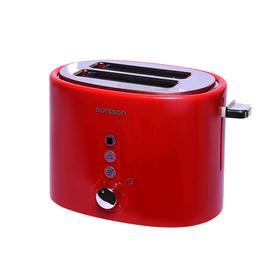 Тостер Oursson TO2110/RD, 800 Вт, 7 режимов прожарки, 2 тоста, красный