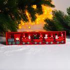 Новогодний декор «Сказочный поезд» 26×5×2 см, МИКС - Фото 3