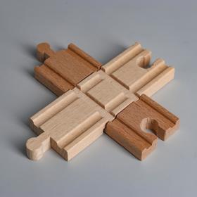 Деталь для ж/д «Перекрёсток» 10.8×10.8×1.2 см Ош