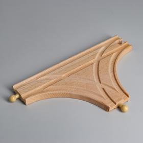 Деталь для ж/д «Перекрёсток» 21.3×12.3×1.2 см Ош