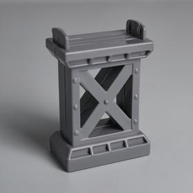 Деталь для ж/д «Опора моста» 6.8×5×2 см Ош