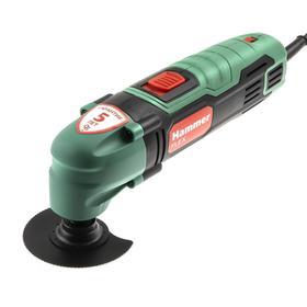 Многофункциональный инструмент Hammer LZK300, 300 Вт, 11000-21000 об/мин, насадки, кейс