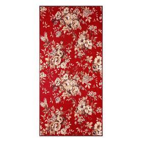 Палас «ЖАКЛИН», 80х125 см, цвет красный