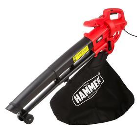 Воздуходувка электрическая Hammer VZD2000P, 2000 Вт, 14000 об/мин, 75 м/с, всасывание/обдув   527782 Ош