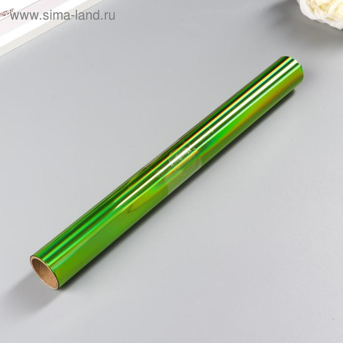Тонерочувствительная фольга Heidi Swapp -  для MINC - Iridescent Lime - 31.1х183 см