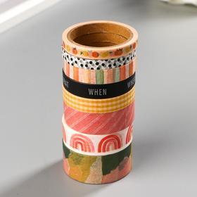 Набор бумажных клейких лент Heidi Swapp 8 шт