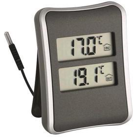 Термометр TFA 30.1044, цифровой, измерение внутри/снаружи помещения, выносной датчик, 2хААА,